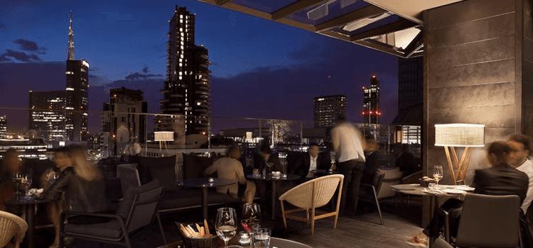 rooftop milano, rooftop milan, rooftop, me milan, melia, aperitivo ...