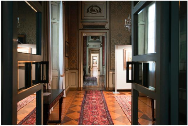 Interni del Palazzo Cusani