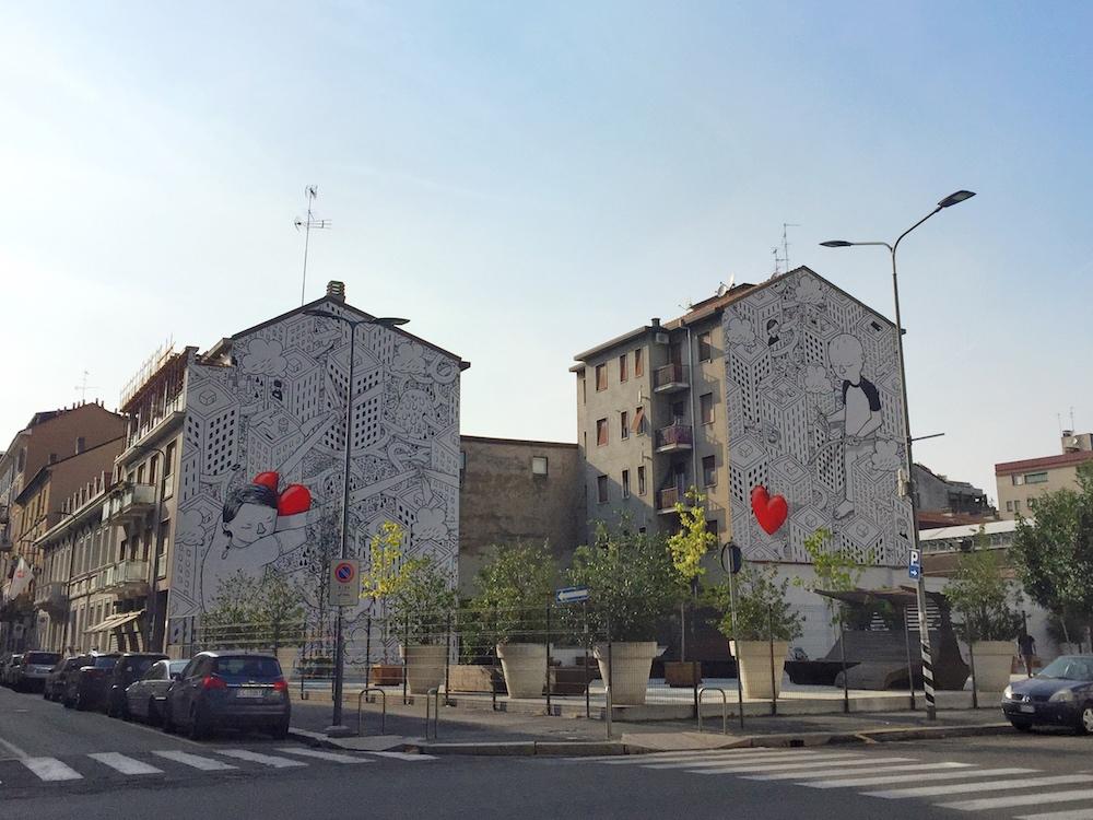 Murales Millo Milano